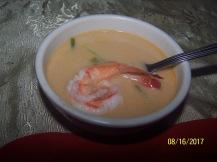 Shrimp soup not spicy